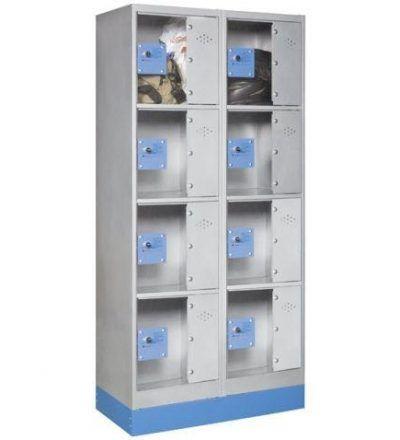 Consigna monoblok met%C3%A1lica soldada con puerta metacrilato CM4P1600 D 400x440 - Maquinaria hostelería ocasión