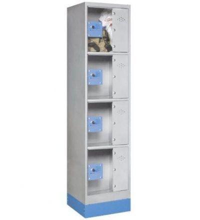 Consigna monoblok met%C3%A1lica soldada con puerta metacrilato CM4P1600 S 400x440 - Maquinaria hostelería ocasión