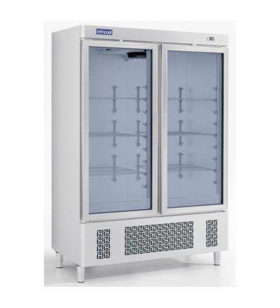 Armario frigorífico 1100 LT Puerta Cristal