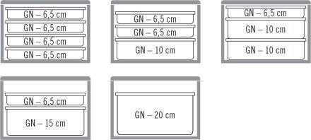 Contenedor Isotérmico GN1/1 46 Lt