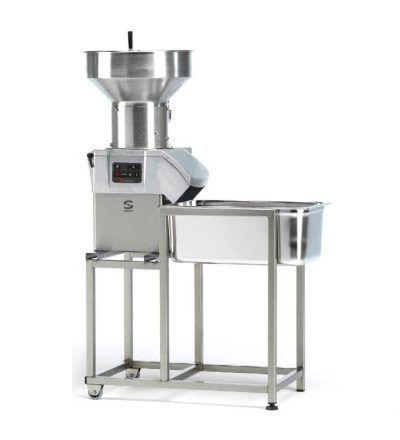 soporte carro cortadora hortalizas con maquina 400x440 - Maquinaria hosteleria ocasion: Maquinaria auxiliar