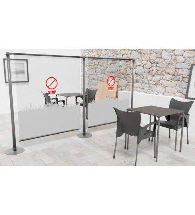 Biombo / Mampara PVC Flexible 1800x1800 mm