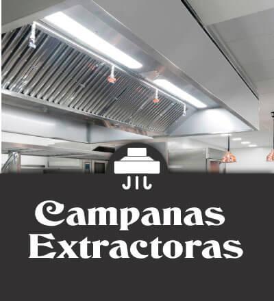 Campanas extractoras industriales