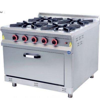 Cocina a Gas 4 Fuegos Grandes 1000×1000