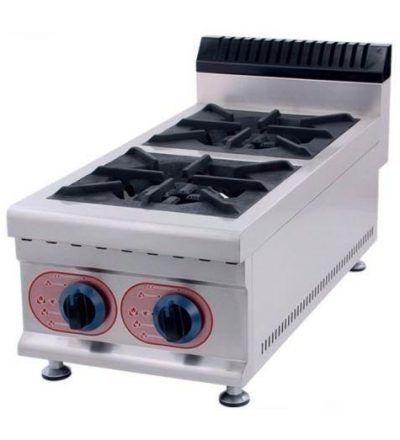 Cocina a Gas Sobremesa 2 Fuegos ECO 360×790