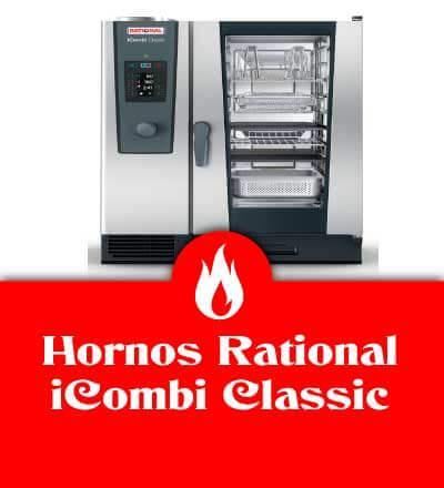 Hornos Rational iCombi classic