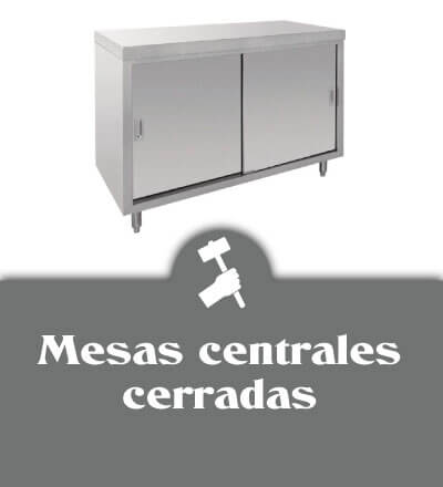 Mesas centrales con mueble