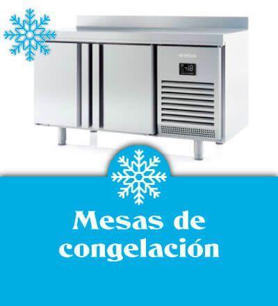 Mesas de congelación