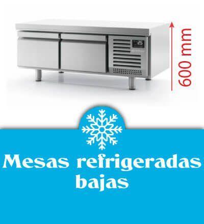 Mesas refrigeradas bajas