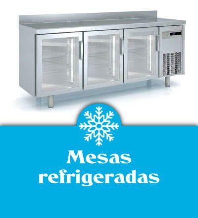 Mesas refrigeradas