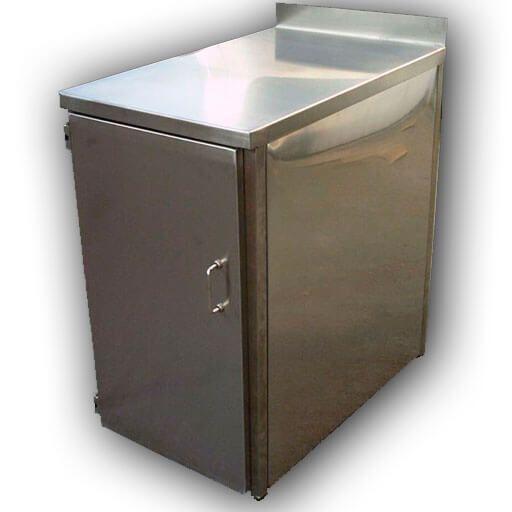 armarios acero - Muebles de acero a medida