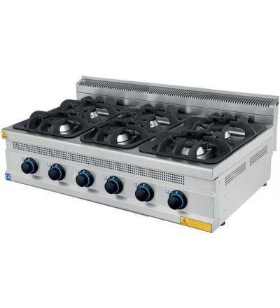 Cocina a Gas Sobremesa 2 Fuegos ECO 400x700