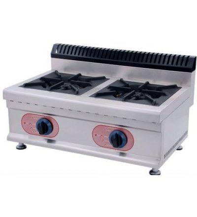 Cocina a Gas Sobremesa 2 Fuegos ECO 700×450