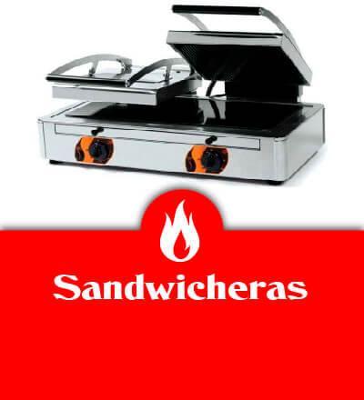 Sandwicheras industriales