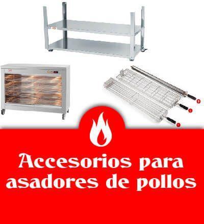 Accesorios de asadores de pollos