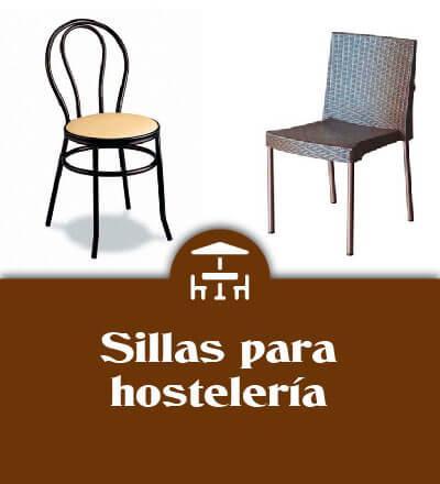 sillas para hosteleria