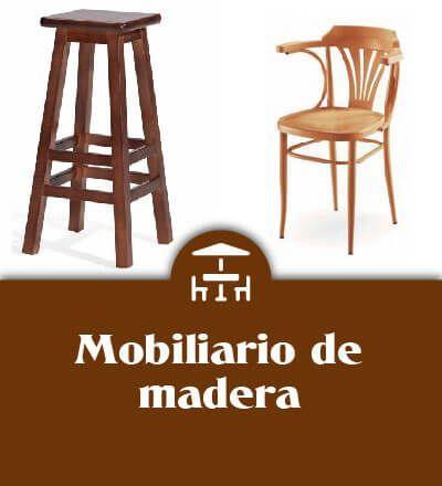 Mobiliario de madera