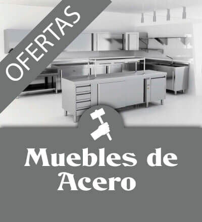 Ofertas muebles de acero 1 - Maquinaria hosteleria ocasion: Muebles de acero