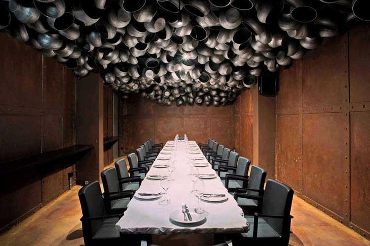 decoracion techos 14 - Cómo decorar un restaurante: La guía definitiva.
