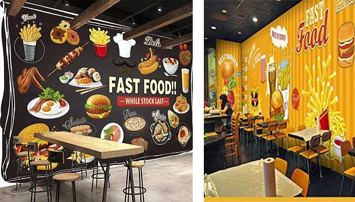 paredes con comida - Cómo decorar un restaurante: La guía definitiva.