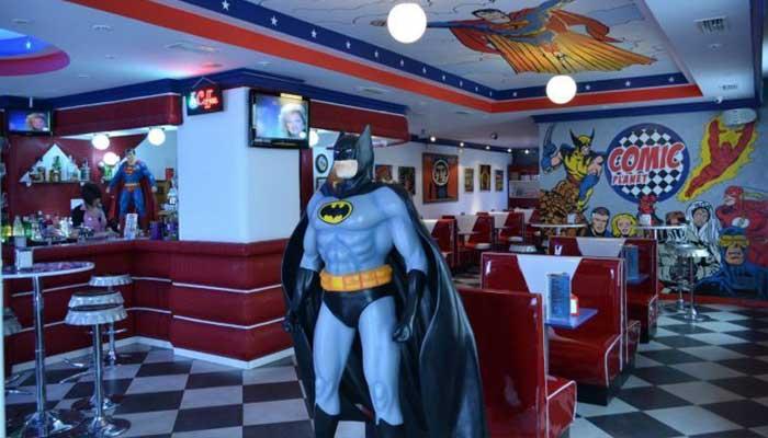 restaurante comics - Cómo decorar un restaurante: La guía definitiva.