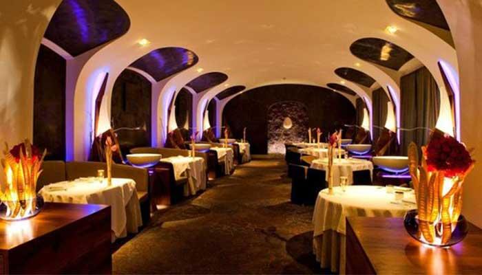 restaurante lujo 4 - Cómo decorar un restaurante: La guía definitiva.