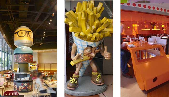 restaurantes divertidos para ni%C3%B1os - Cómo decorar un restaurante: La guía definitiva.