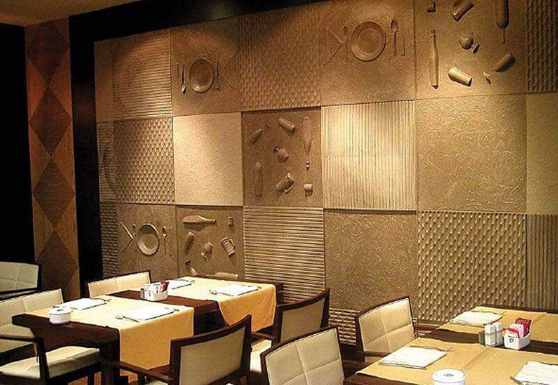 revestimientos decorativos - Cómo decorar un restaurante: La guía definitiva.