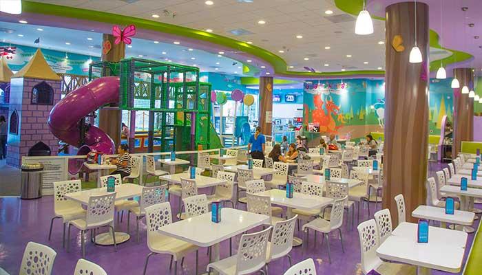 zona de juegos - Cómo decorar un restaurante: La guía definitiva.