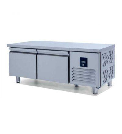 Mesa baja refrigerada GN 1/1 Fondo 700 2P